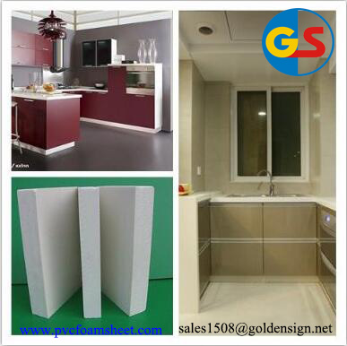 4*8 Wholesale price PVC sheets furniture & cabinets