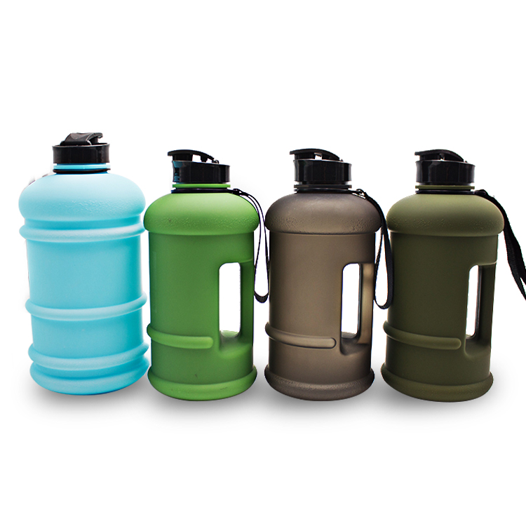 custom 1.3L plastic PETG drinking bottle clear cycling water bottles