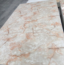 Quartz Slabs Decorative Plastic Stone Wall Panel