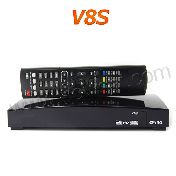 OVERBOX Open V8S satellite receiver V8 with UK TP support 2xUSB USB Wifi WEB TV Weather Forecast