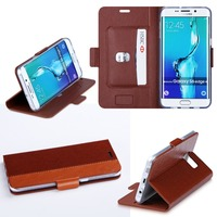 2015 Newest Products Fashionable Phone Leather Cover For Samsung S6