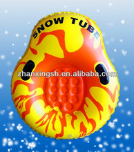 cheap price pvc inflatable snow ring for kids