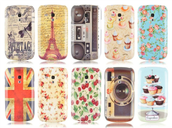 Classic Water printed Hard Case for Samsung Galaxy S3 Mini i8190