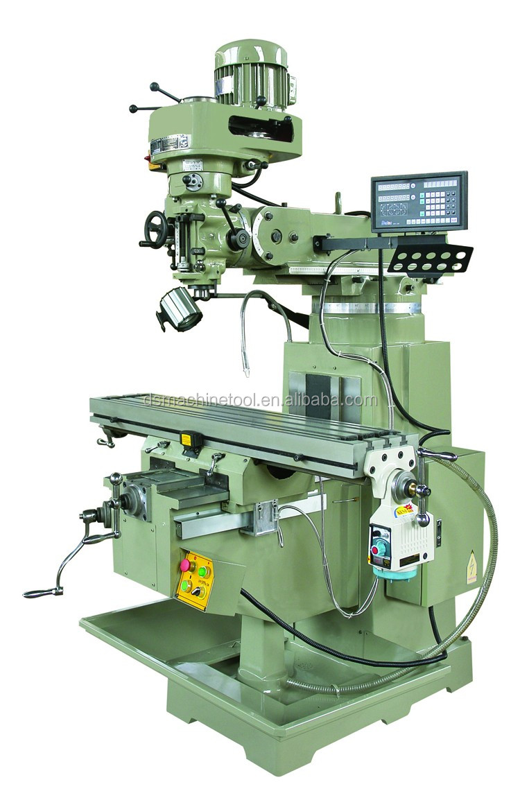 High performance and low price X6323A turret milling machine