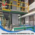 China Industrial construction material SBS bitumen roofing sheet machine