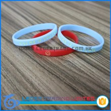 Rubber lovely wristbands/Personalized wrist band/Customized silicone bracelet wristbands