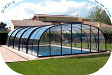 XINHAI Customized space frame swimming pool cover roof