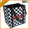 New Design Full Color Printing Nonwoven Shopping Tote Bag with 4 Bottle Holder