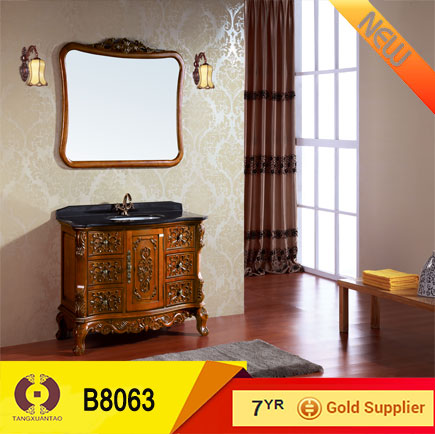 solid wood bathroom mirror cabinet bathroom design b8063 buy