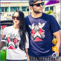 2016 fashion Printed T Shirt print custom designs tshirt high quality fashion men clothing
