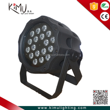 Ip65 Waterproof 18x15w Full Color 5IN1 RGBWA Led Par Light, Use For Disco, Ballroom, KTV, Bar ,Club, Party, Wedding