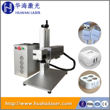 Metals/Plastic/Rubber/ABS/PVC/PES/Steel/Titanium/Copper Fiber Laser Marking Machine with laser marking software ezcad