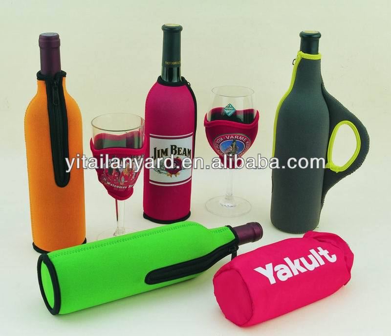 Custom made wine tote,can cooler,bottle cooler