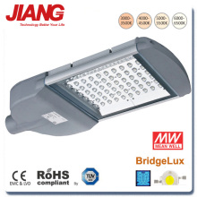 Aluminium LED Street Light Body With Meanwell LED Driver High Luminous IP65 Rate CE ROHS TUV Approved