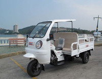 SUMOTA Three Wheel Passenger Cabinet Cargo Motorcycle with food fruit box tricycle