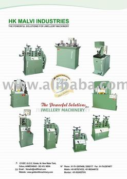 silver jewelery making machine