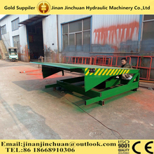 15T hydraulic car loading ramps with CE approved