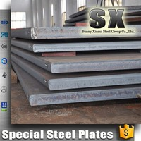 hot rolled abrasion resistant steel plate NM400