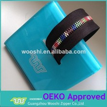 zipper factory cheap prices black nylon tape multi-color corn teeth metal zipper for sexy woman underwear