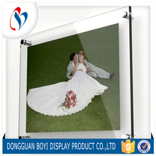 New Design Clear Acrylic Photo Frame Customized Document Frame for Sale