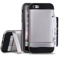 sliver color armor case for iphone 6 and iphone 6 plus