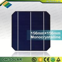2016 hot sale 156x156mm solar cells 156x156 monocrystalline High Quality