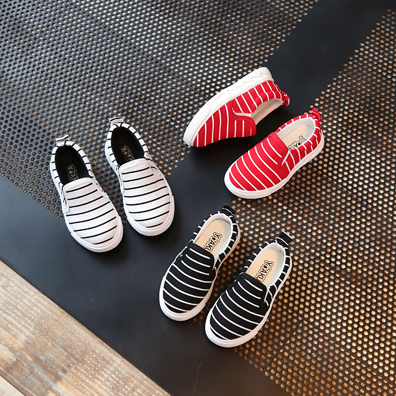 10-13(2) children stretch canvas shoes 2017 cute unique printing baby shoes 26-30