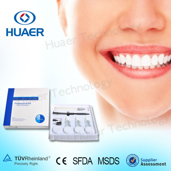 Dental supply one kit for 5 customer 35%cp 25%hp Professional Teeth Whitening Kit