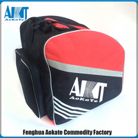 waterproof red ski shoe bag for outdoor sports