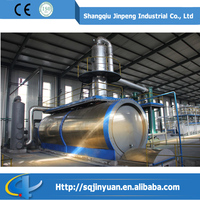 Pollution Free Waste Tyre Recycling Fuel Oil, Distillation Machine to Diesel Unit