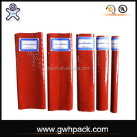 Fiberglass fire proof hose silicone rubber coating fire sleeve