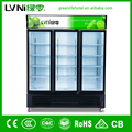commercial fridge/beverage showcase cooler/glass display showcase
