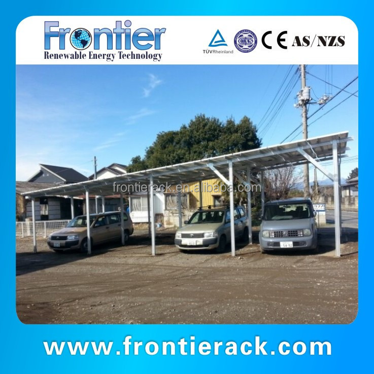 The Latest Design Aluminum Solar Carport Kits