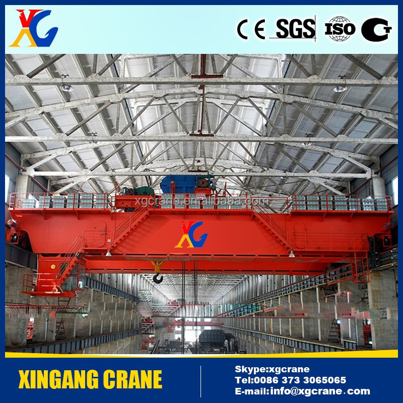Heavy duty 20 ton overhead travelling crane price with electrical diagram
