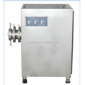 meat mincing and meat grinding machine used in sausage making factory