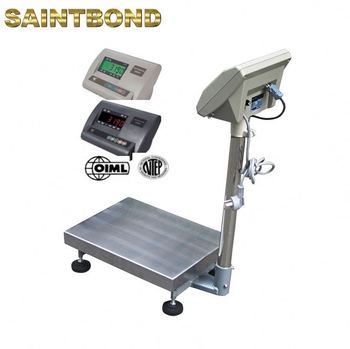Industrial 1000kg for sale digital scales 60*60 600kg platform bench scale