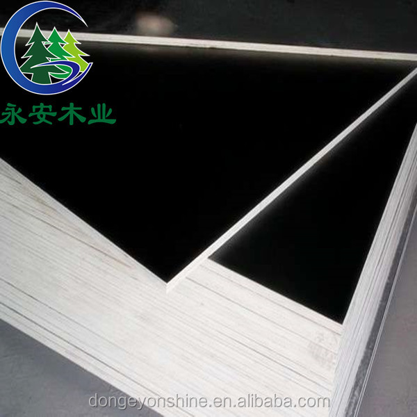 Good qulity waterproof black film faced plywood used construction material