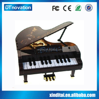 Piano shape music box with retro nostalgia style