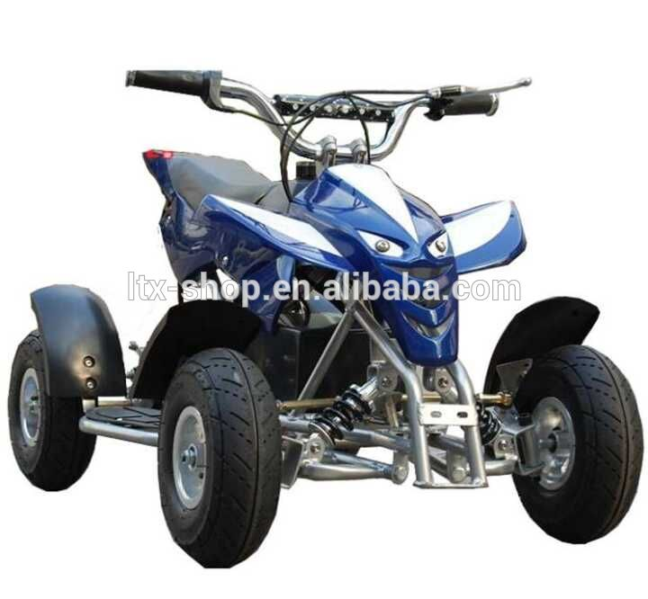 Fasion Hot-sale Mini 4 Wheel 49CC/24 V 250~500W ATV For Kids Gasoline/Electric Dirt Bike For Children Mini Chopper Motorcycle