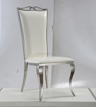 silver the palace banquet wedding stainless steel chair