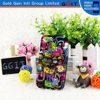 Attractive skin printer matte case for Iphone 4s printing cellphone cover for samsung s5