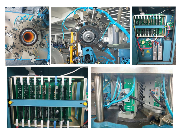 300 Pairs Per Day Single Cylinder Sock Knitting Machine SJL-600