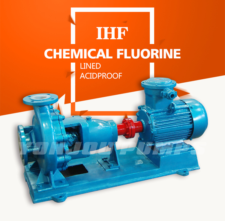 PTFE Strong Sulfuric Acid Pump, acid resistant stainless steel chemical pump
