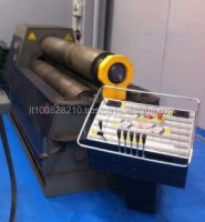 Plate rolling machine steel bending machine