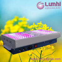 2016 New High Efficient 10W C ree LED Grow Light 530W Full Spectrum/Veg/Flower with 4 Individually Dimmer and Timer Channels