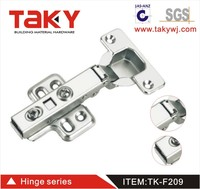 hot sale 209 clip on self closing hydraulic furniture hinge