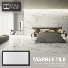 600X600 Cheap Carrara White Gloss Bangladesh Homogeneous Full Body Porcelain Tile Imitation Artificial Marble Floor Tiles Price