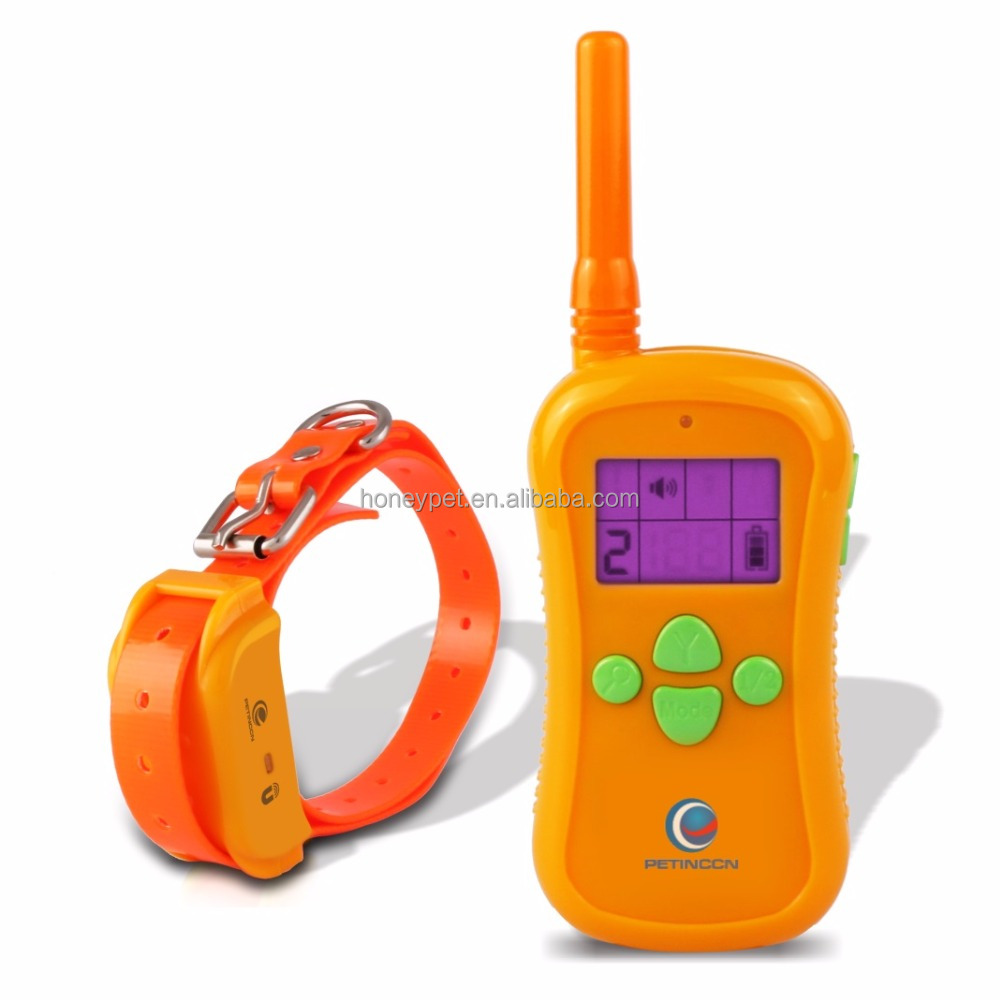 LCD display 300 Meters Rechargeable and Waterproof 998dr remote control dog training collar