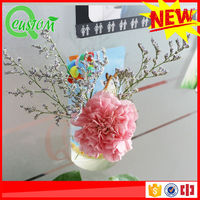 China produce silicon small wooden flower pot stand