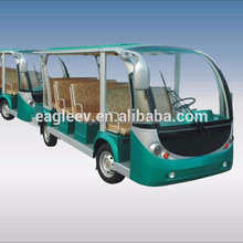 Electric bus train, electric shuttle bus with trailer, 23 seats, EG6118TB with EG6118TB
